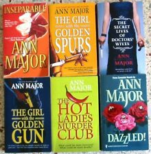 6 ANN MAJOR ROMANCE BOOKS NO DOUBLES FREE SHIPPING