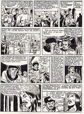 FULGOR (BILD) SUPERBE  PLANCHE ORIGINALE ARTIMA  ANNEES 1950 PAGE 2
