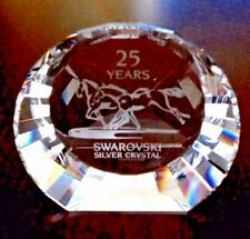 Swarovski Crystal 25 Years Wild Horses Paperweight 60 mm Mint Condition - No Box