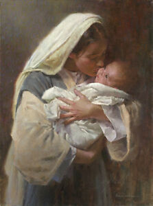 """Kissing the Face of God"" Morgan Weistling Fine Art Giclee Canvas"