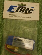 E-flite eflb0990 battery 7.4V 800mAh 2C LipO JST / Balance