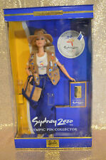 Barbie Collectibles Sydney 2000 Olympic pin Collector Barbie Doll