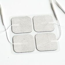 4 Pack TENS 3000 7000 Electro Estim Pads ELECTODES Massage Therapy Pin Style