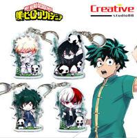 US!My Boku No Hero Academia Anime Izuku Midoriya Acrylic Keychain Pendant Figure