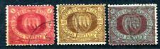 SAN MARINO 1892 20-22 gestempelt HÖCHSTWERTE 730€(S1919