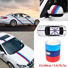 "79""/2M BMW Multi-Color Stripe Car Body Modified Decoration Vinyl Sticker Decals"