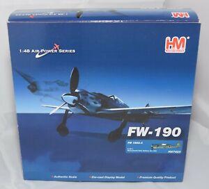 HOBBY MASTER HA7423 FOCKE WULF FW 190A-4 6./JG1 WOLFGANG LEONHARDT 1:48 SCAL