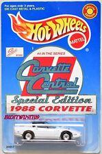 HOT WHEELS 1998 CORVETTE CENTRAL SPECIAL EDITION 1988 CORVETTE #4 SERIES W+