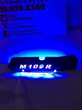Suzuki m109r BLACK w LED light up SWINGARM COVER WITH LOGO pick led color