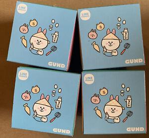 "Lot Of 4 - GUND LINE Friends Blind Box Series #1 Plush, 3"""