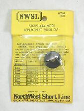 NWSL SAGAMI Can Motor Brush Cap 10020-09 HO Scale Model Railroad