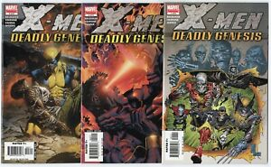 X-Men: Deadly Genesis #1 - 6  Complete Set  avg. NM+ 9.6  Marvel  2006  No Resv