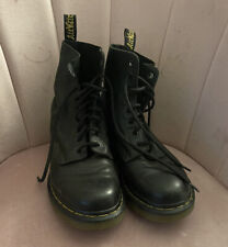 Dr Martens Black Soft Leather Pascal Boots Black UK 6