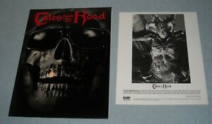 1995 TALES from the HOOD MOVIE PRESS KIT 9 PHOTOS CLARENCE WILLIAMS III HORROR
