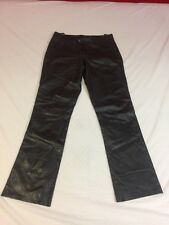 J Lindeberg Leather Pants - Excellent Cond. - Dark Brown - Size 30