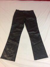 J Lindeberg Leather Pants - Excellent Cond. - Dark Brown - Size 30