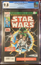 STAR WARS # 1 CGC 9.8 1977. FACSIMILE EDITION. (2/20).