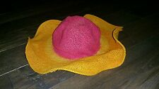 Gymboree Popsicle Party floppy hat - girls summer hat size 5 - 7