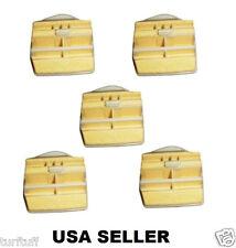 5 X AIR FILTERS for HUSQVARNA 445 445E 450 450E CHAINSAW  544080803 USA SELLER