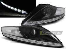 LED HEADLIGHTS LPFO53 FORD MONDEO MK-4 2007 2008 2009 2010 BLACK