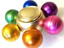 😎 Colorful Balls All Metal Fidget Spinner Toys Boys Girls Kids Adults EDC ADHD