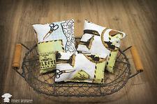 3 Lavendelsäckchen Duftsäckchen Kissen Lavendel sewing vintage Geschenkset Set