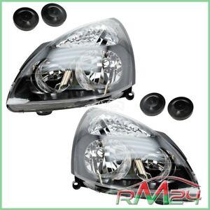 2X FARO ANTERIORE SX DX H7/ H1 RENAULT CLIO 2 II + VAN 01-04