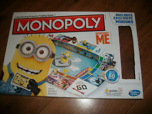 DESPICABLE ME MINIONS MONOPOLY BOARD GAME SPARES PIECES CHOOSE FROM LIST