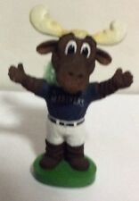 Seattle Mariners Moose Mascot Blue Jersey Bobblehead, MLB