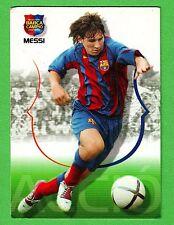 2004 MEGA CRACKS  BARCA CAMPIONS  LEO MESSI ROOKIE CARD #62
