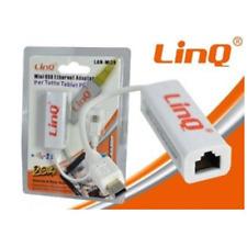 Adattatore da Mini USB a Ethernet solo per Tablet 10/100 RJ45 LAN-MI20 Linq