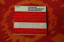"""♫♫♫ H. Kupper-ordinateur et composition musicale, RARE 7"""" phasedepleinecapacitéopérationnelle, 1970 ♫♫♫"""
