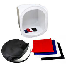 Photo Studio Soft Light Box Photography Tent Studio White & Colors Backdrop Kit