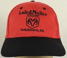 Laird Noller Dodge Dealer Hutchinson Kansas Baseball Cap Hat Adjustable Snapback