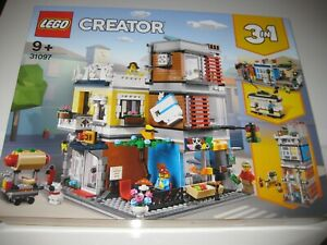 LEGO CREATOR 3-IN-1 SET 31097 TOWNHOUSE PET SHOP AND CAFE - BRAND NEW