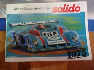 SOLIDO CATALOGUE 1975
