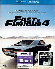 BLU RAY -  FAST & FURIOUS 4 - Vin Diesel