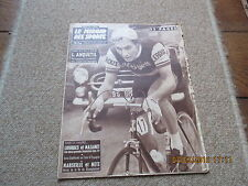 JOURNAL MIROIR DES SPORTS BUT CLUB 685 12 mai 1958 jacques anquetil