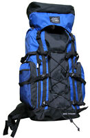ROYAL BLUE Extra Large Backpack Camping 4300 CI Hiking Pack Hunting Scouts Hike