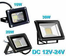 Faro Faretto LED Lampada 10W 20W 30W DC 12V 24V per Impianto Solare Fotovoltaico