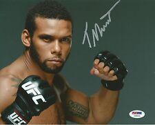 Thiago Santos Signed UFC 8x10 Photo PSA/DNA COA Picture Autograph 183 175 163