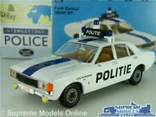 FORD CONSUL 3000 GT MODEL CAR DUTCH POLICE 1:43 SCALE VANGUARDS VA05508 POLITIE