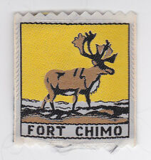 SCOUTS OF CANADA -  CANADIAN SCOUT QUEBEC FORT CHIMO DISTRICT Patch ~ Extinct