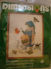 Dimensions Little Drummer Boy Crewel Embroidery Christmas Kit
