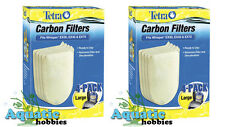 Tetra Carbon Filters Large 8 PK Fits Whisper EX30 EX45 EX70 Cartridge LG Filter