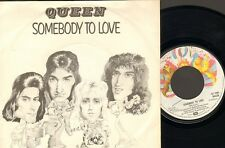 "QUEEN Somebody To Love SINGLE 7"" White Man 1976 HOLLAND"