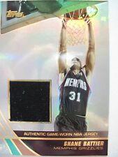 2004 TOPPS BASKETBALL GAME JERSEY SHANE BATTIER MEMPHIS  JE-SBA GRIZZLIES  BOX54