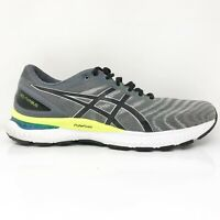 Asics Mens Gel Nimbus 22 1011A680 Gray Running Shoes Lace Up Low Top Size 11