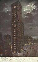Raphael Tuck New York Series 2430 Oilette Times Building NYC 1908 Postcard