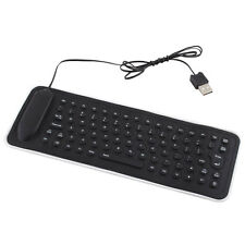Mini USB Flexible Silicone Keyboard Foldable for Laptop PC Notebook Portable